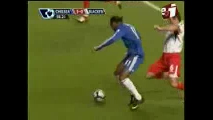 Chelsea - Blackburn 5 - 0 Premier League 241009 Football Highlight