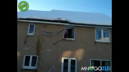 Не чистете така сняг