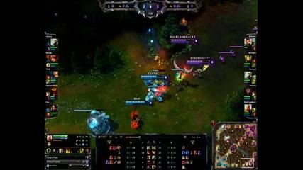 League of Legends-cassiopeia-две прецаквания