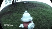 Отново тест за ташаците... с пожарен кран! Смях!