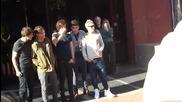 One Direction at G105 Radio Station March 6, 2012 in Durham, North Carolina