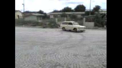 trabant 2 opit za drift