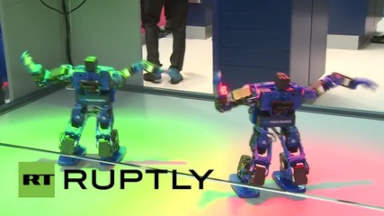 Germany: Watch robots dance Gangnam style