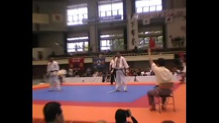 Slavi Slavov (bul) vs Krasimir Kolev (bul) All Japan 2010, Final Heavyweight