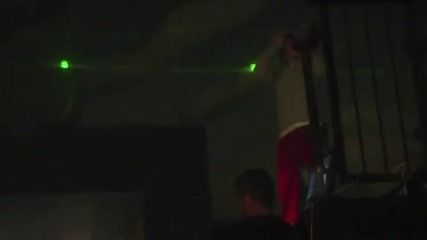 Justin Bieber at Xboxs Halo Reach Launch Party