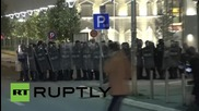Serbia: 10 arrested in Pristina after clashes over EU-brokered agreement with Serbia