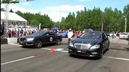Mercedes S65 Amg vs Bentley Continental Gt