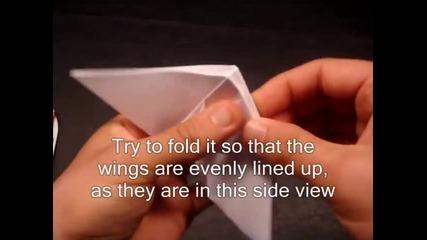 Как да си направим: Оригами Пеперуда