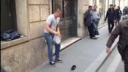 Талантлив уличен музикант