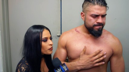 Andrade basks in his victory over Rey Mysterio: WWE.com Exclusive, Jan. 15, 2019
