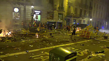 Spain: Barcelona aflame as protests enter fifth day