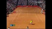 ATP MS Roma 2006 : Федерер - Надал | 1 Сет