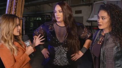 Nia Jax gets brutally honest about Sasha Banks: WWE.com Exclusive, Nov. 19, 2018