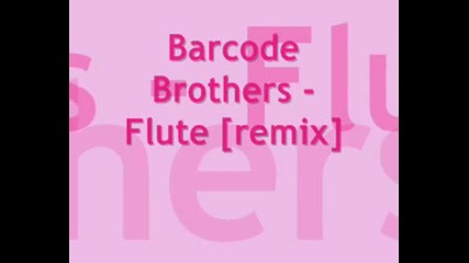 Barcode Brother - - Flute {remix}