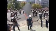 Арести след протести на полуостров Халкидики