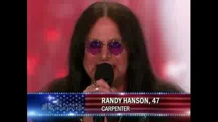 Americas Got Talent - Randy Hanson (ozzy Impersonator)