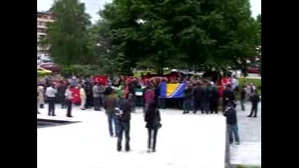 Антиизраелски протести и в Сараево