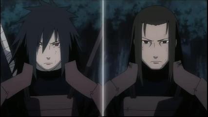 Naruto Shippuuden - Uchiha Madara and Kyuubi vs Shodaime Hokage Senju Hashirama