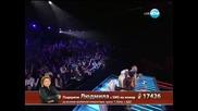 X Factor Людмила Йовчева - Live концерт - 28.11.2013 г.