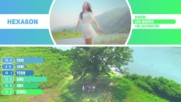 Gfriend - Love Whisper Kpop Line Distribution Color Coded