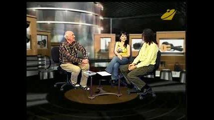 Донна Барух И Деян Неделчев - интервю - Тв Евроком Пловдив - 2008