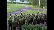 Сутрешно упражняване на армията