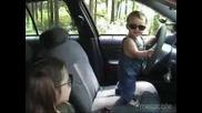 малкият шофьор и стопаджийката