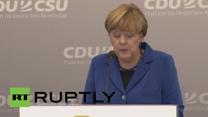 Germany: Europe can't resolve Syrian conflict without US, says Merkel