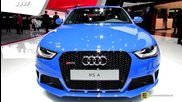 2014 Audi Rs4 Avant - Exterior and Interior Walkaround - 2014 Geneva Motor Show