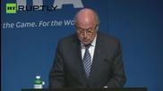 Sepp Blatter Resigns as FIFA President