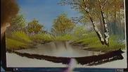 S02 Радостта на живописта с Bob Ross E05 - есенно великолепие ღобучение в рисуване, живописღ