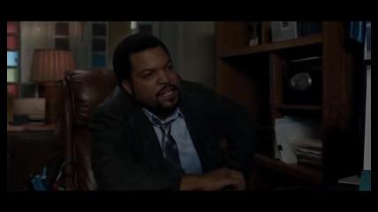 21 Jump Street - Сцената в офиса на капитана ( Ice Cube )