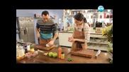 Ягоди с винен сос и сладолед, минестроне с леща, патешки бутчета с ябълки. - Бон Апети (05.03.2013)