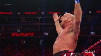 Kurt Angle, Bobby Roode, Chad Gable & Apollo Crews vs. Baron Corbin - No Disqualification 4-on-1 Handicap Match: Raw, De