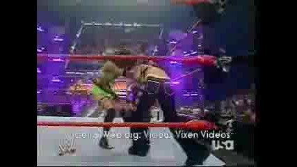 Victoria And Melina Vs Maria And Mickie
