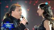 Християна и Наско от БТР - Time to say goodbye - X Factor Live (25.01.2016)