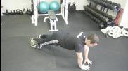 Push Up Plus Serratus Anterior Exercise for Winged Scapula Video Coachnickt Pushupplusserratusanteri