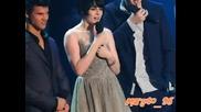 Kristen,  Robert and Taylor Mtv video music awards