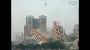 Тъпи китайци събарят сграда за 1 000 000!