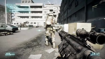 Battlefield 3 Official Fault Line Gameplay Trailer