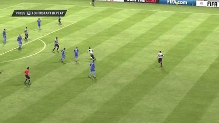 Neymar избухва със страхотен гол|fifa 13