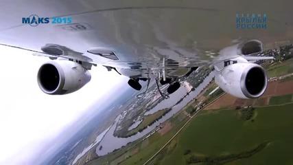 Руска авиация на Макс 2015