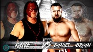 2013- Wwe Surviour Series Kane Vs Daniel Bryan Matchcard Hd