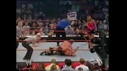 Test vs. Scott Steiner for Stacy Keibler - Wwe Raw 18.08.2003
