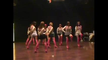 Синхрон на Snsd - Oh! dance