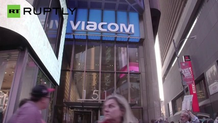 Blaze Erupts in Times Square Skyscraper, MTV Offices Evacuated