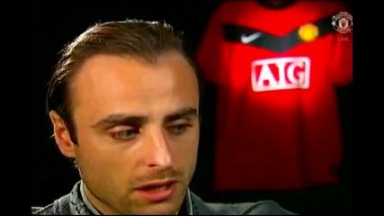 Интервю на Димитър Бербатов преди мача с Челси + субтитри