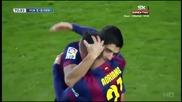 Барса ниже гол след гол, Меси трупа рекорди! 15.02.2015 Барселона - Леванте 5:0