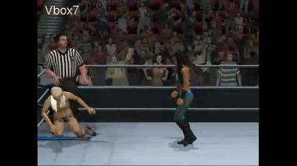 Wwe Smackdown vs Raw 2011 Сезон 1 Maryse vs Melina Raw Part 3
