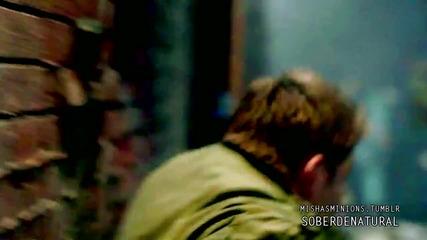 Castiel-angel with a Shotgun